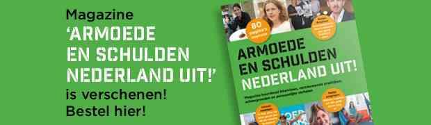 Inspiratiemagazine Armoede en Schulden Nederland uit! Laat zien dat het anders kan!