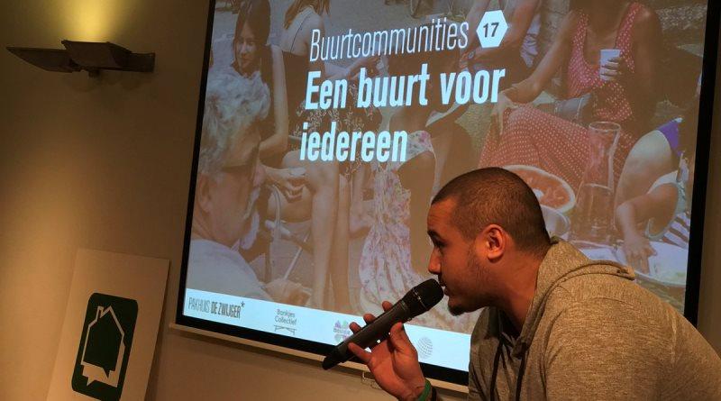 Redouane Amine is sinds twee jaar moderator van het programma Buurtcommunities